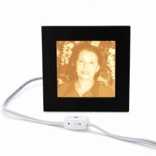 Memorial gift Photo Medium Lamp