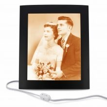 50th wedding anniversary gifts for parents - XLarge photo lamp